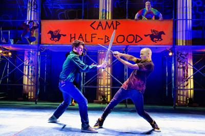 Stage review: 'Lightning Thief' is pure entertainment, and not just for young audiences