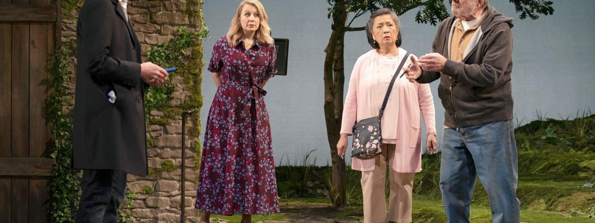 STAGE REVIEW: Wily characters bring their own agenda to 'The Plot'