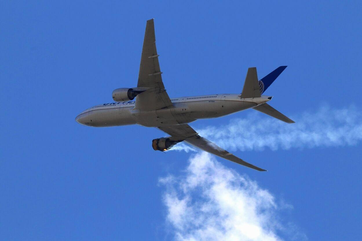Emergency Landing Plane Debris