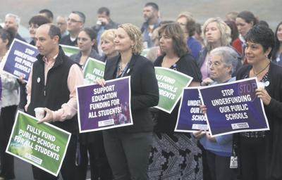 'Walk-in' for better school funding