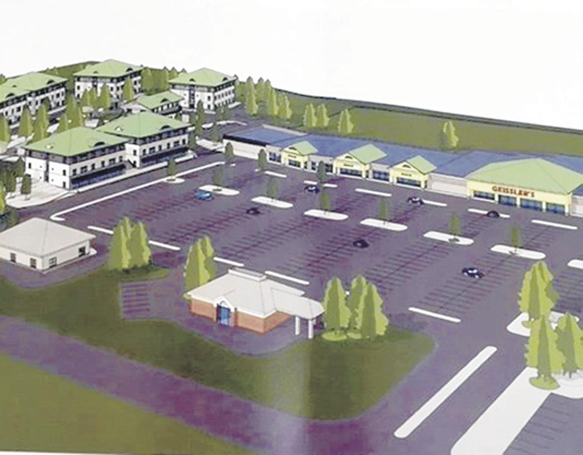 Geissler's plaza renovation plan