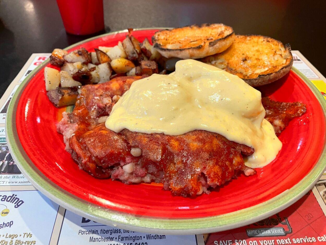 The Gathering Diner: Irish eggs Benedict