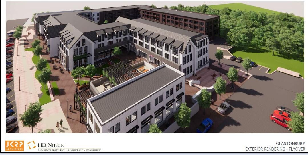 Overview of Main Street redevelopment project
