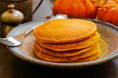 Homemade Pumpkin Pancakes