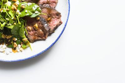 Steak Salad-with Walnuts