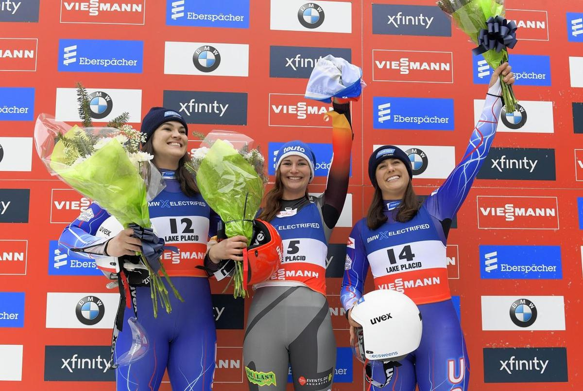 Two luge medals for Suffield's Sweeney