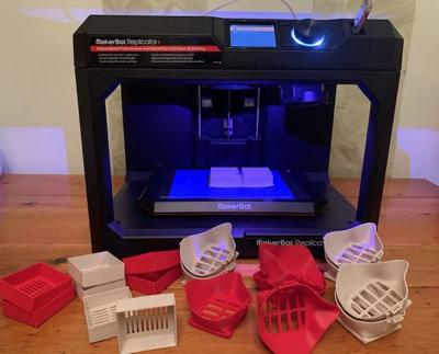 3D face mask printing