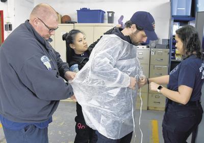 First responders in the coronavirus pandemic