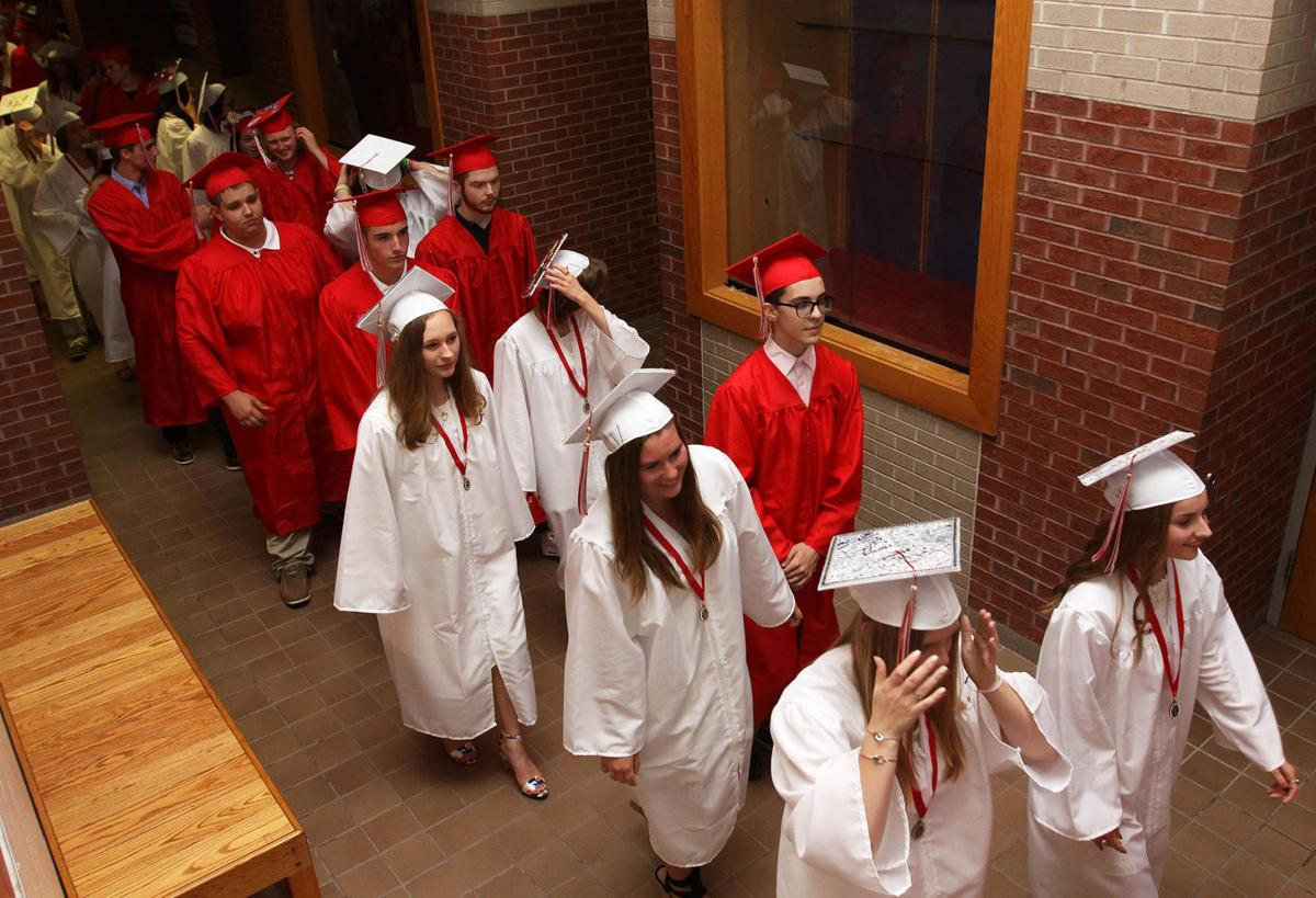 Somers High School graduation