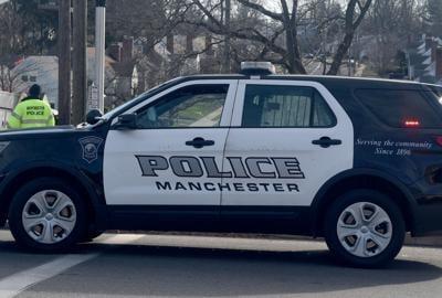 Manchester police car