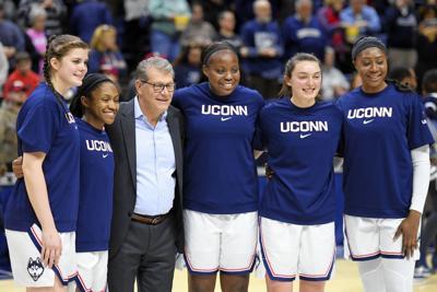 Five UConn women's seniors honored