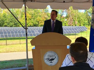 Solar panels at MCC