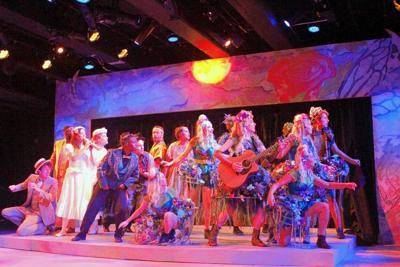 """A Midsummer Night's Dream"" cast; Playhouse on Park"