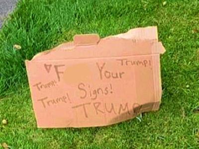 Trump sign South Windsor