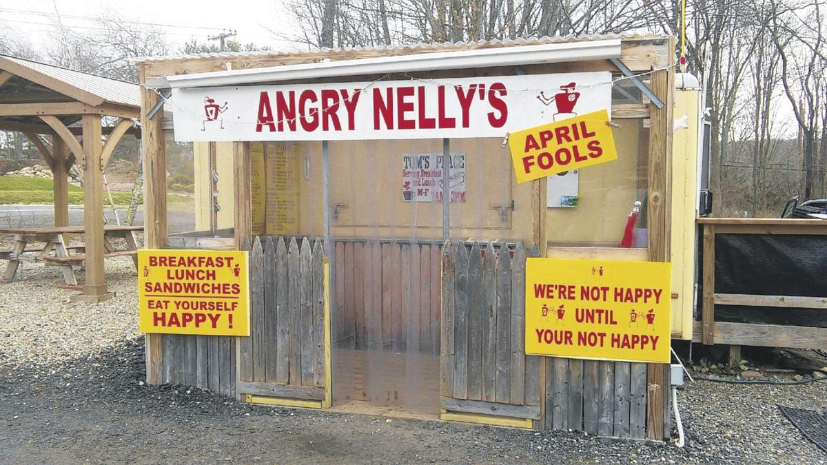 prank signs announce cvs rename food truck in andover news
