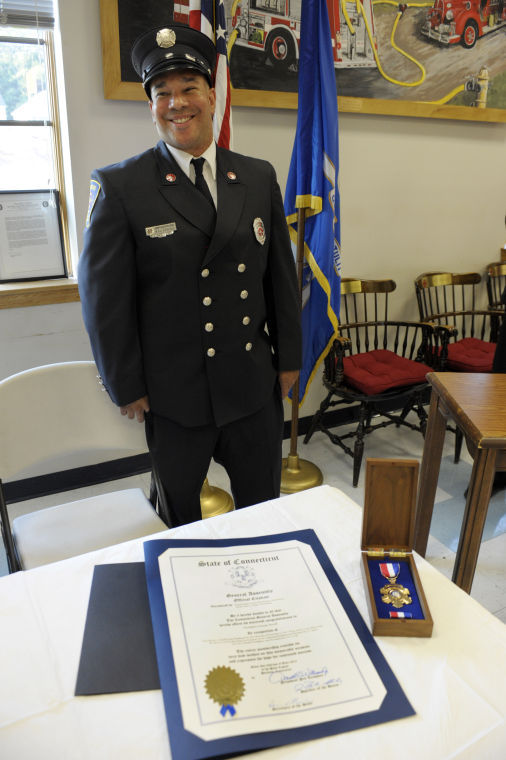 Somer Fire Department honors firefighters
