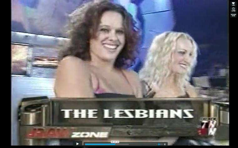 lesbians in wwe