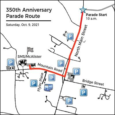 Suffield 350th birthday parade