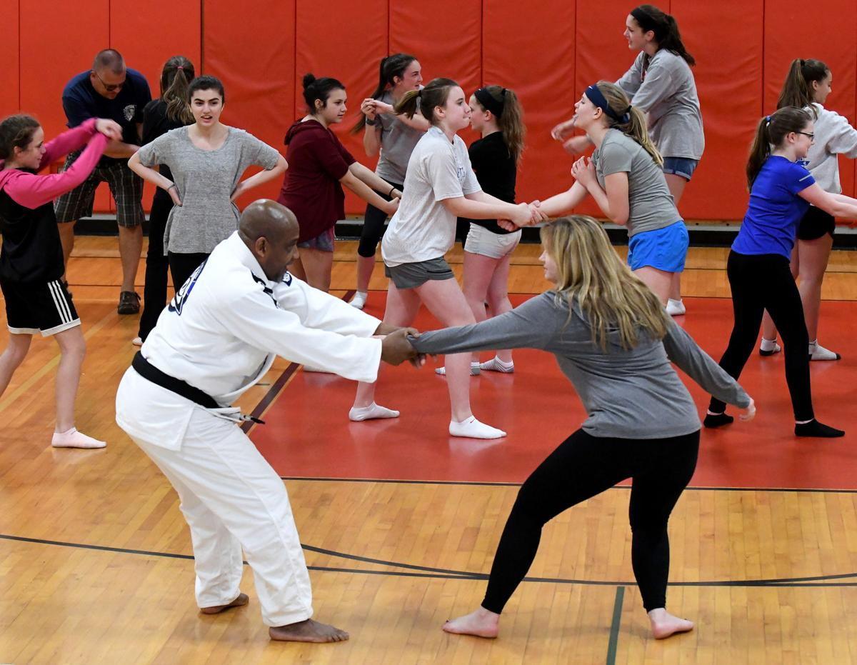 Growing girl power: Self-defense class gives girls valuable