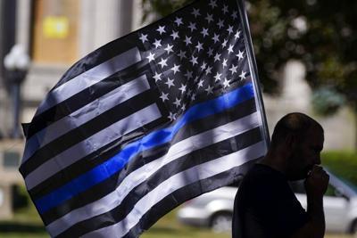 file thin blue line flag