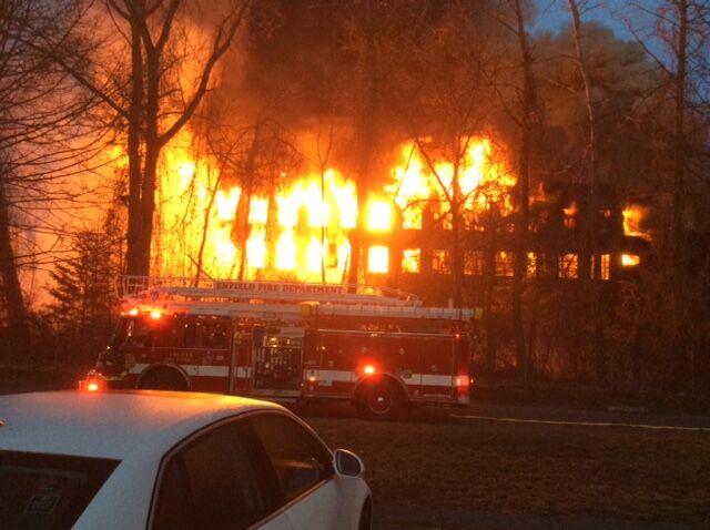 Fire in Enfield factory 2