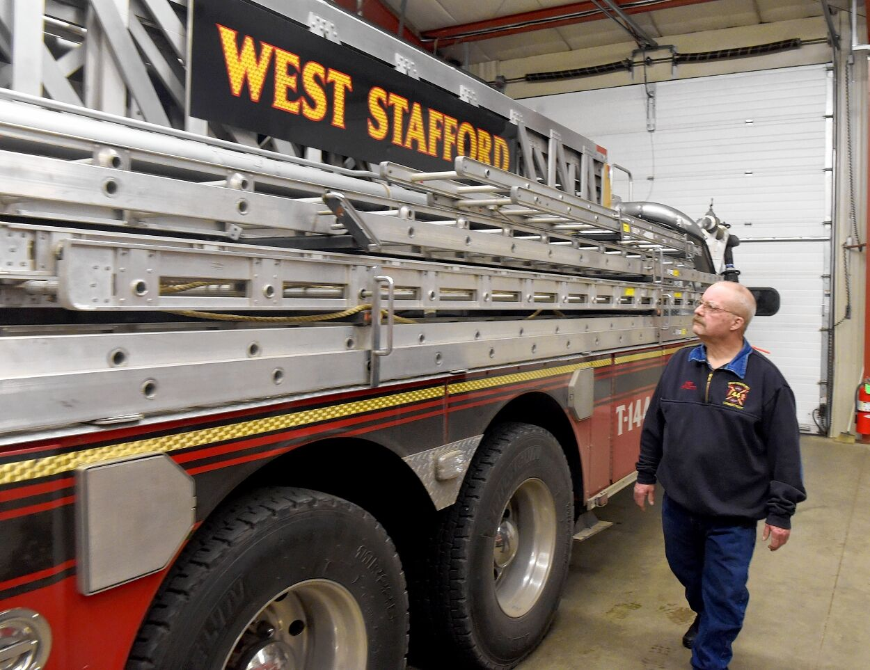 West Stafford Fire Department celebrates 75th anniversary