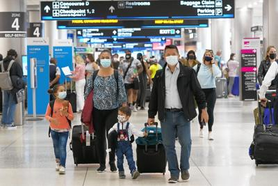 Traveling? Bring a mask