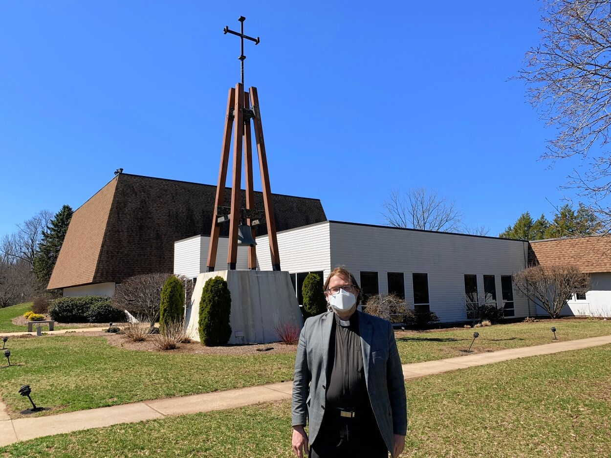Tim Oslovich from Trinity Lutheran Church