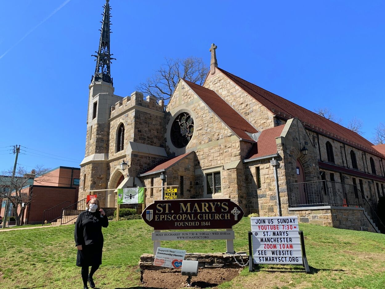 Ann Lovejoy Johnson from St. Mary's Episcopal Church