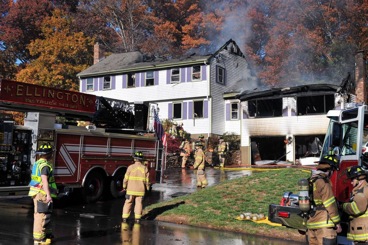 Fire That Gutted Ellington House, Leaving Family Homeless