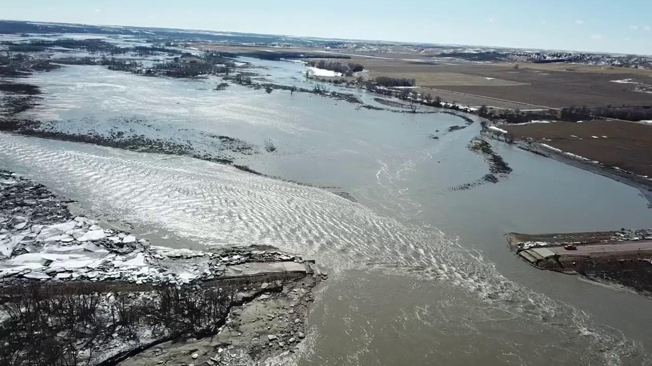Flooding near Niobrara
