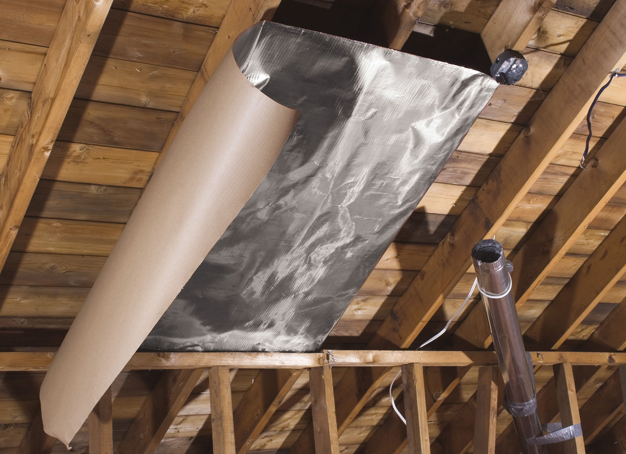 James Dulley: Blocking Radiant Heat From Roof Requires Special Heat Barrier