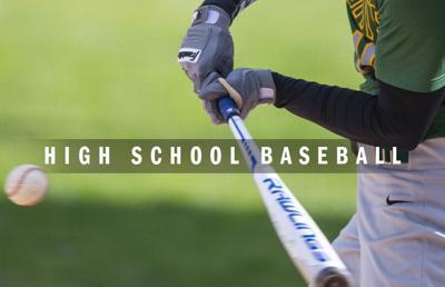 High school baseball logo 2014