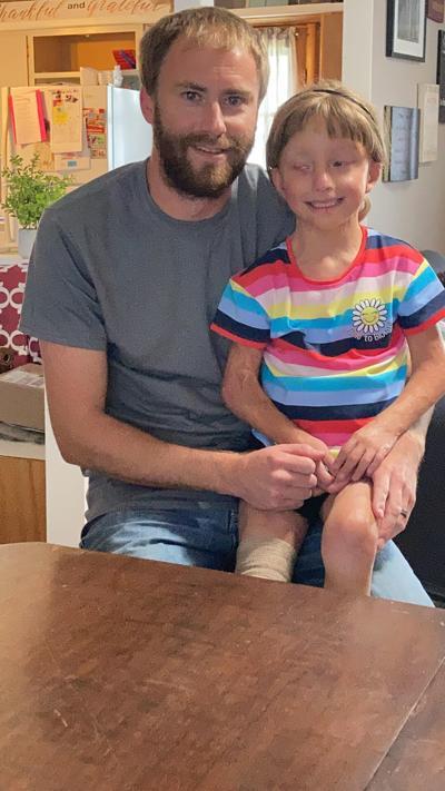 Sean Jauken and daughter Aliyah Jauken