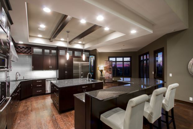 Beams Other Treatments Add Interest To Ceilings The