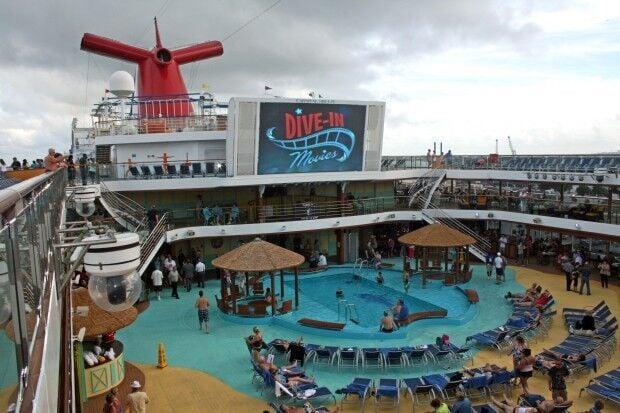 Cruise ship design