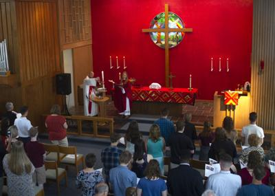 Last Worship at the Lutheran Center, 6.9