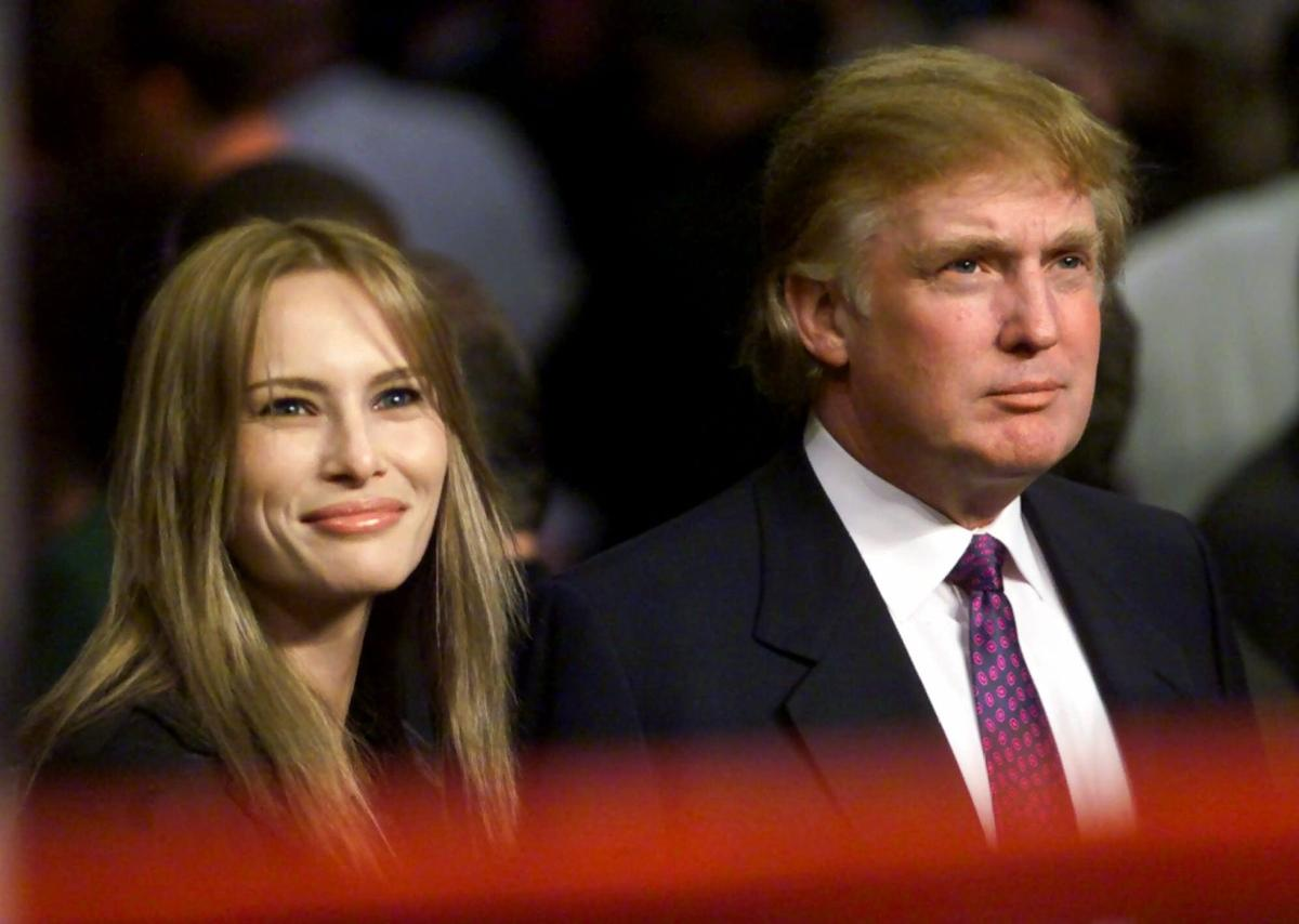 From fashion model to first lady: Melania Trump through the
