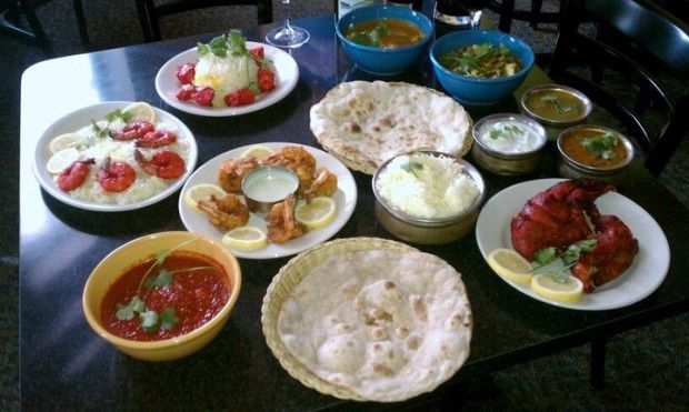 Sample dishes at The Oven.
