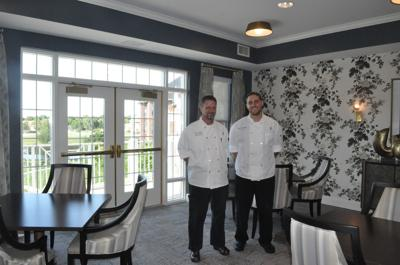 Executive Chef Jeff Corbett and Sous Chef Caleb Vercellino