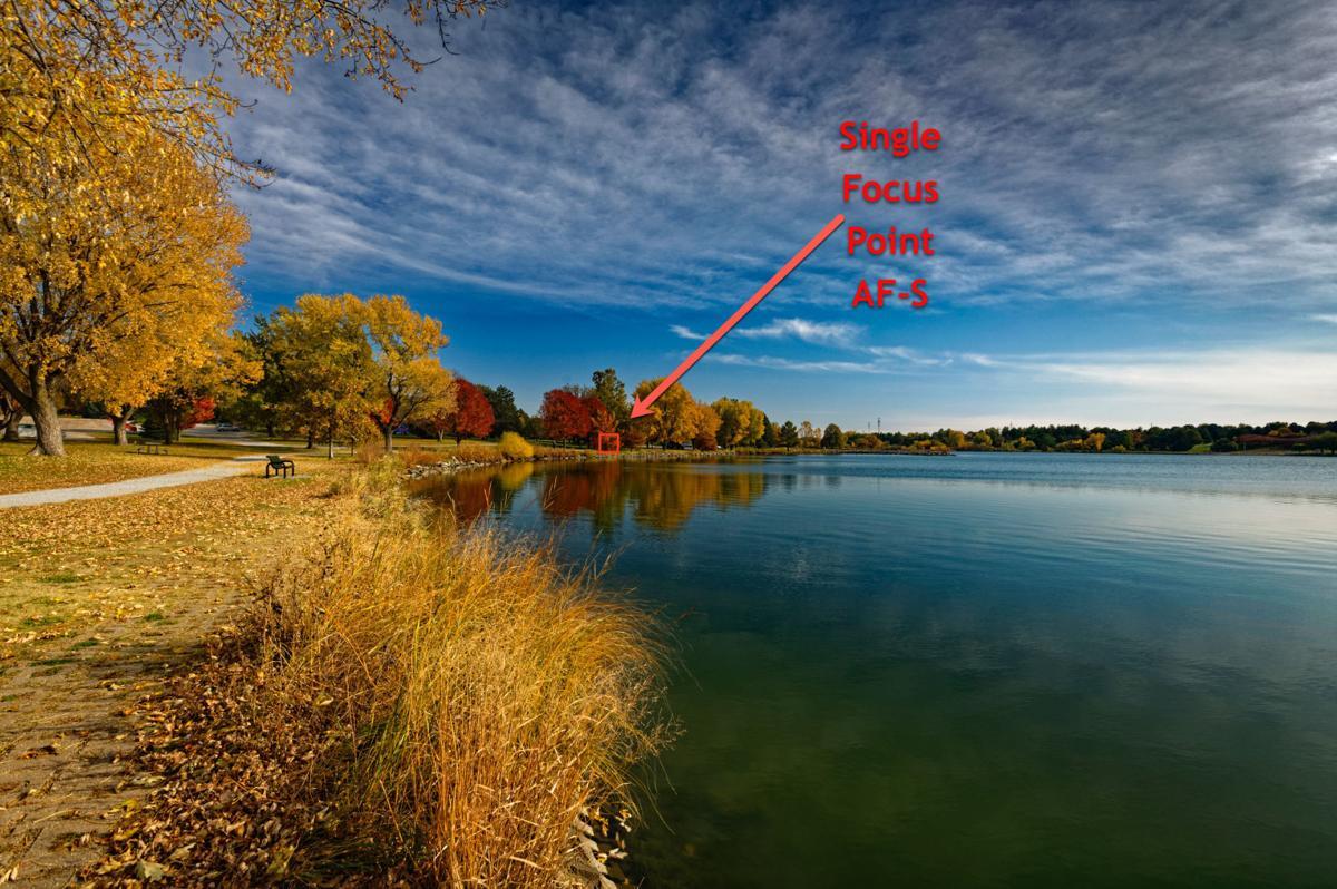 Holmes Lake Fall Scene