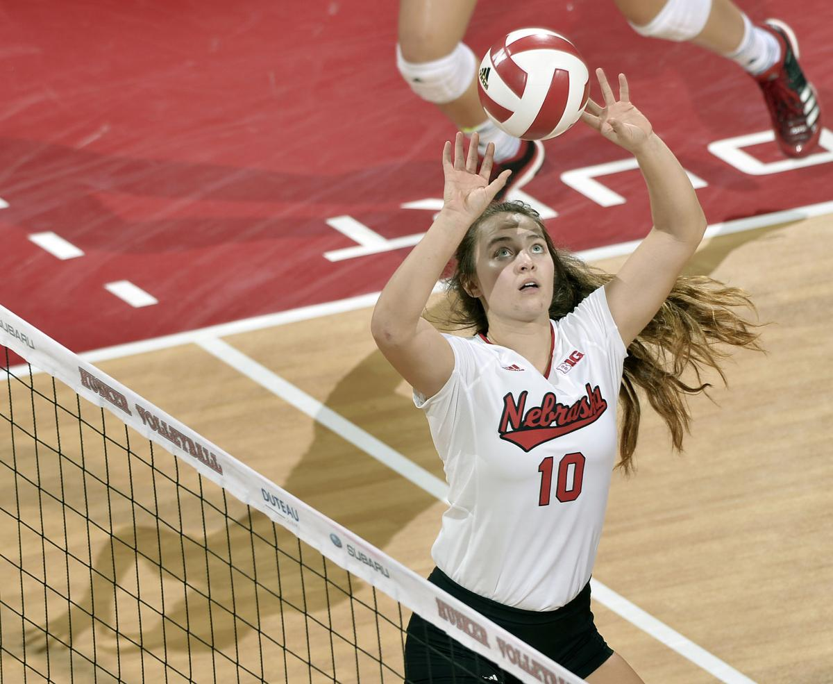 St. Mary's vs. Nebraska volleyball, 9/2/17