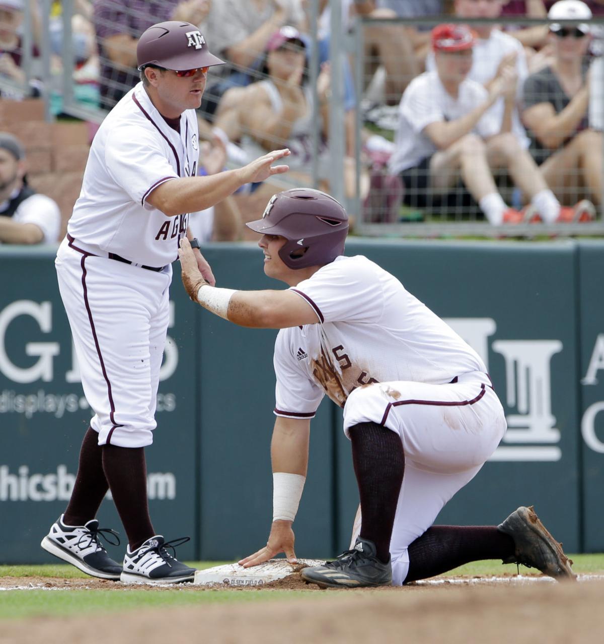 NCAA Davidson Texas A M Baseball