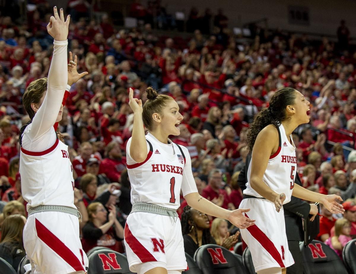 Nebraska vs. Minnesota Women's Basketball, 1.4