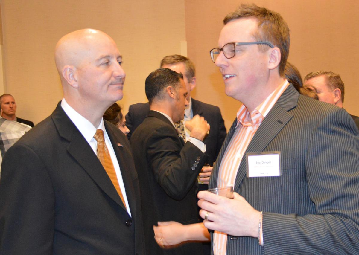 Gov. Ricketts, Eric Dinger