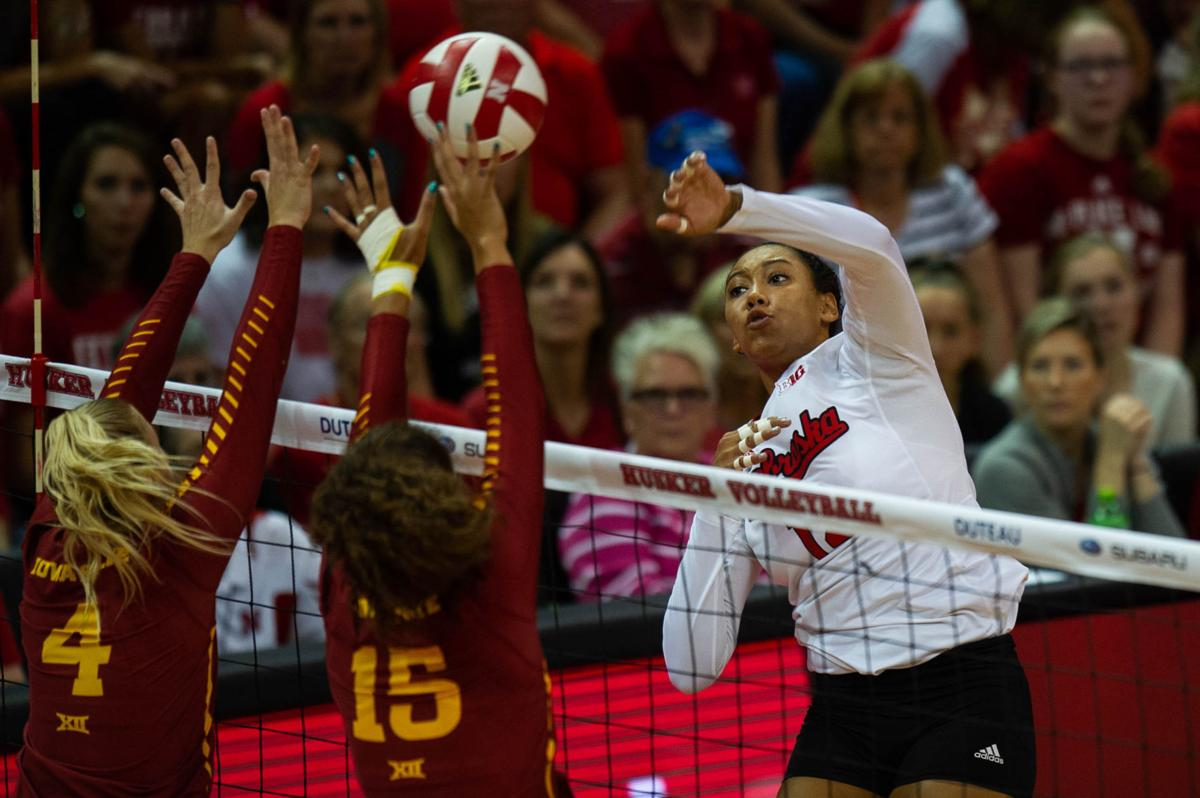 NU Volleyball vs. Iowa State
