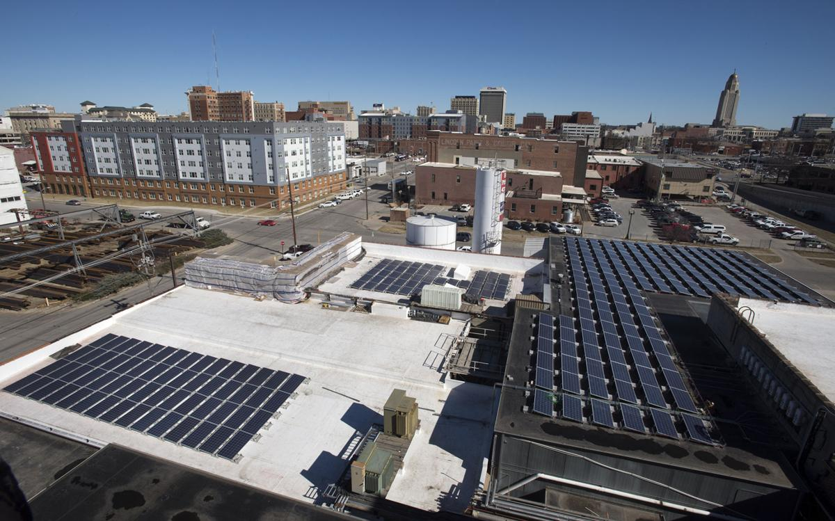 Energy efficiency at former Meadow Gold building