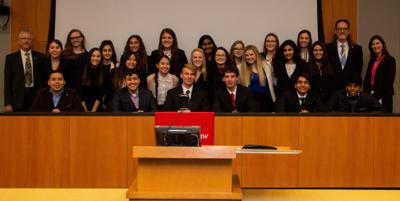 East High team wins We the People contest