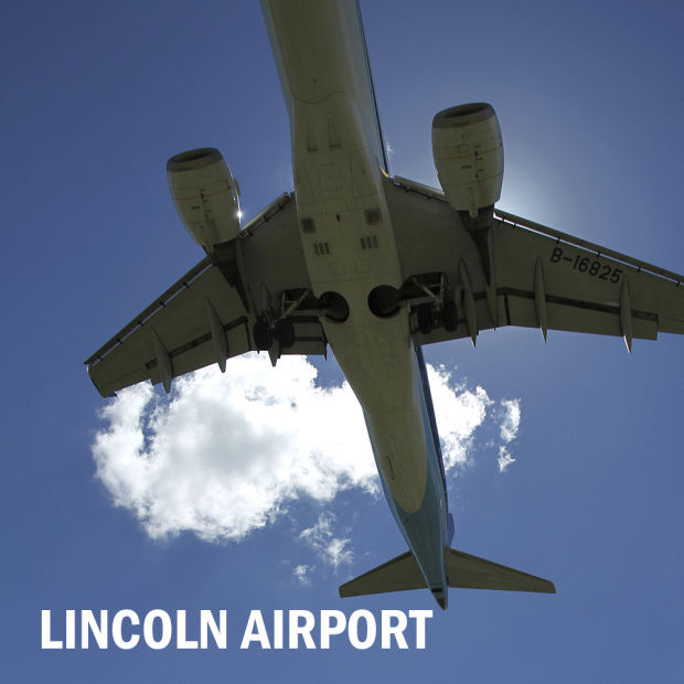 Lincoln airport logo 2014