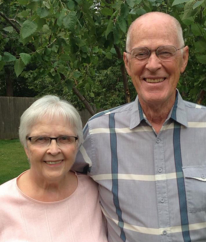 Happy 60th Wedding Anniversay Roger and Reba Jantz